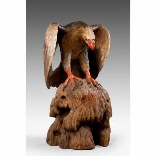 Late 19th Century Figure of an Eagle