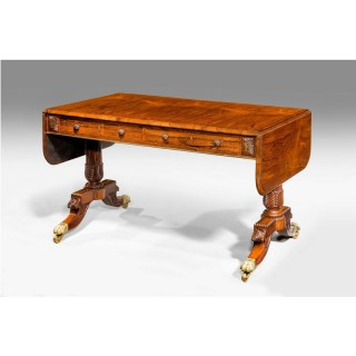 Regency Period Rosewood Sofa Table (Royal)