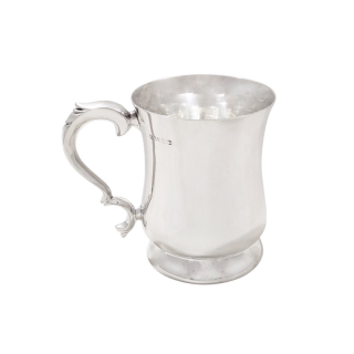 Antique Sterling Silver Pint Mug /Tankard 1938