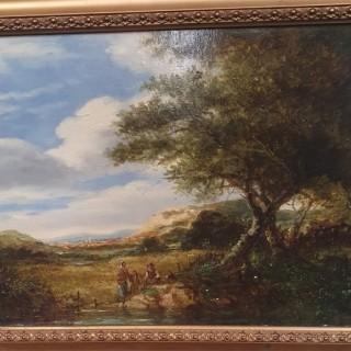 Scottish Landscape Painting by Patrick Nasmyth