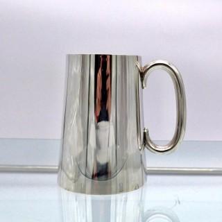 Antique George V Sterling Silver Pint Mug London 1935 Edward Barnards & Sons Ltd