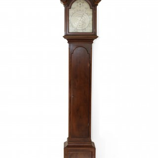 Dr. Franklin clock by Geoffrey Bell, Winchester, 1971