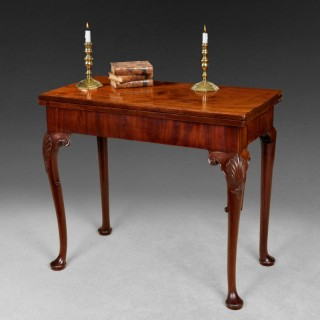 Chippendale Period Mahogany Tea Table