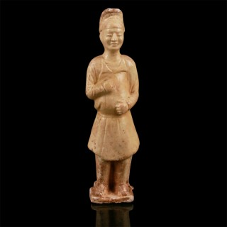 Tang Dynasty Glazed Soldier