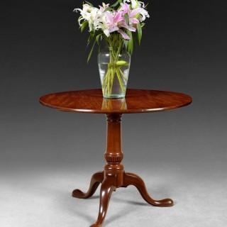 Mid 18th Century Mahogany Tripod Centre Table