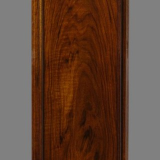 Small Walnut Longcase Clock Retailed by Garrards
