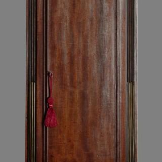 Georgian Mahogany Longcase Clock by John Ross, London