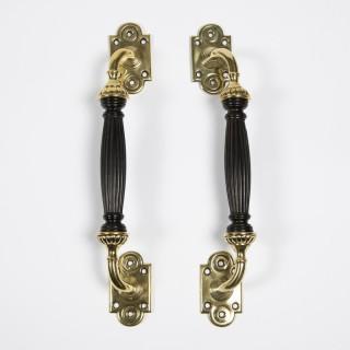 Door handles by James Cartland & Sons