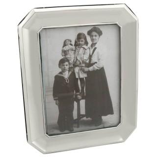 Sterling Silver Photograph Frame - Antique George V (1911)