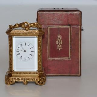 Bolviller et Gontard Bell-striking Carriage Clock
