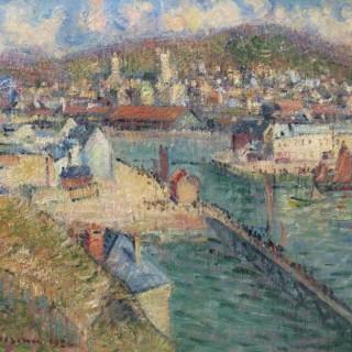 Gustave Loiseau - L'avant-port de Fécamp