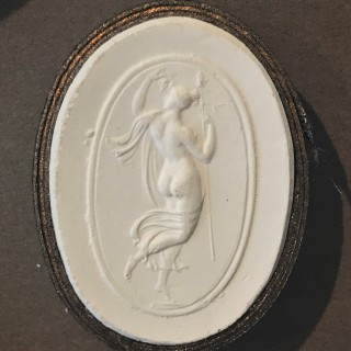 Regency Period Framed Collection of 61 Grand Tour Plaster Intaglios