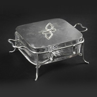 Antique Butter Sardine Dish Mappin & Webb 19th Century