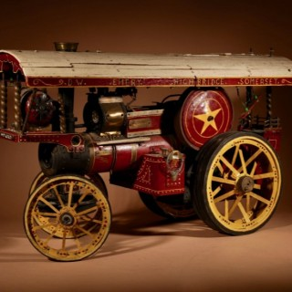 A Model Of A Steam traction Engine (Static)