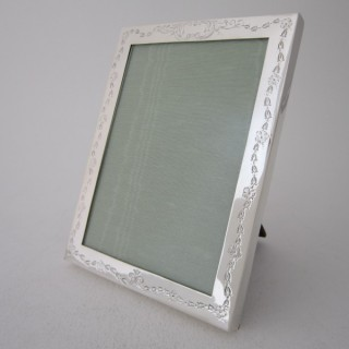 Antique Sterling Silver Photograph Frame - 1912