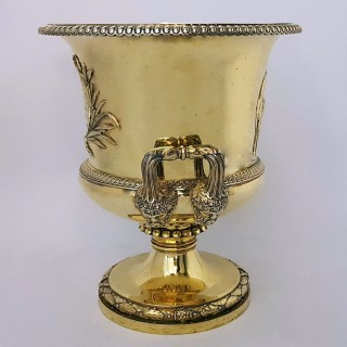 Georgian Silver Wine Cooler By Paul Storr