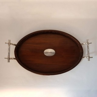 Antique Chinese Silver Tray
