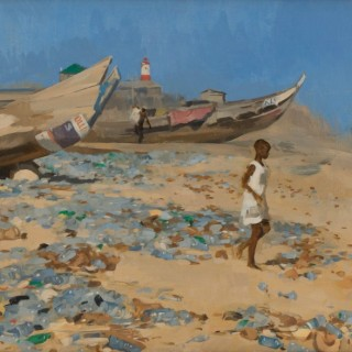 'Plastic' by Neale Worley RP NEAC (born 1962)