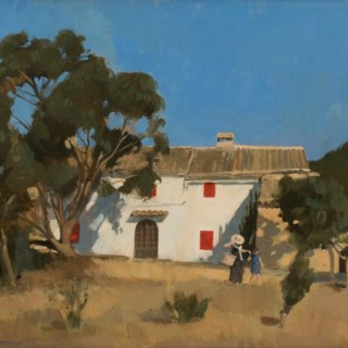 'Empty Spanish House' by Neale Worley RP NEAC (born 1962)