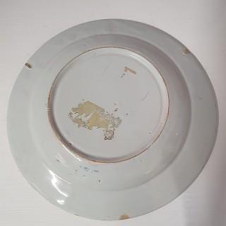 Good 18th Century English Delft Plate