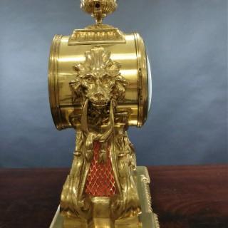 French Brass Bracket Clock