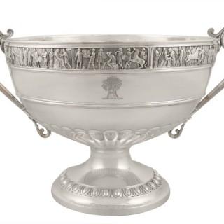 Sterling Silver Presentation Bowl - Antique Victorian (1899)