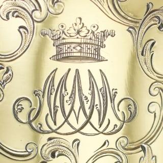 Sterling Silver Gilt Beaker by Paul Storr - Antique William IV