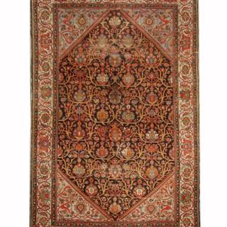 Handmade Persian Malayer Carpet Area Rug- 209x310cm