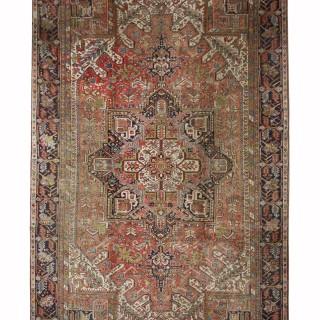 Handwoven Persian Heriz Wool Rug Traditional Carpet Area Rug-287x390cm