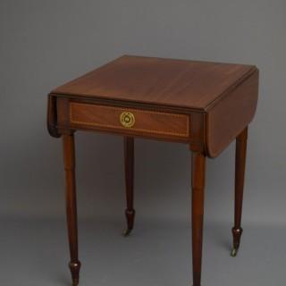 George IV Mahogany Pembroke Table