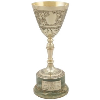9ct Yellow Gold Presentation Cup - Vintage (1964)