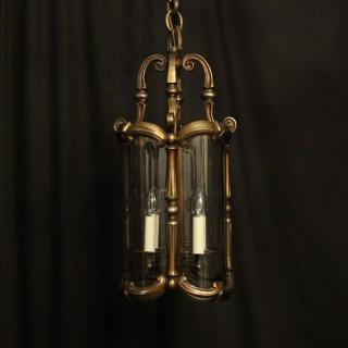 French Bronze 4 Light Antique Lantern