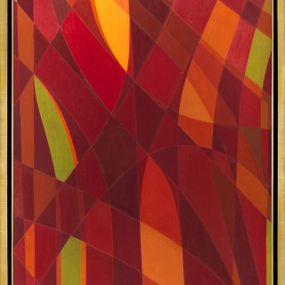 Été en Rouge I by Othello Radou (1910 – 2006)