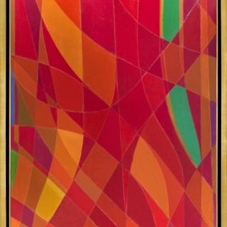 Été en Rouge II by Othello Radou (1910 – 2006)