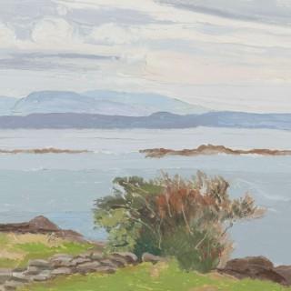 'Near Caherdaniel, County Kerry' by Luke Dillon-Mahon (1917-1997)