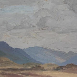 'From Back Road to Clifden, Connemara' by Luke Dillon-Mahon (1917-1997)