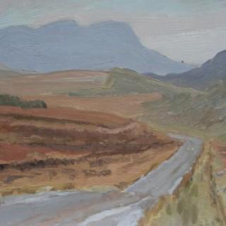 'Wet Road, Connemara' by Luke Dillon-Mahon (1917-1997)