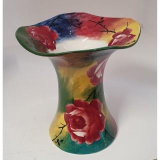 Superb Scottish Jazzy Wemyss Lady Eva Vase