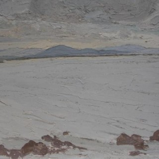 'Across Galway Bay' by Luke Dillon-Mahon (1917-1997)