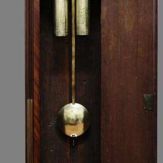 Georgian Mahogany Longcase Clock by Phillip Rundell, London