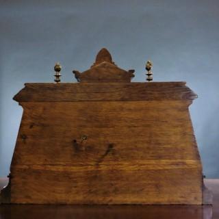 Victorian Desk Clock / Barometer / Thermometer Set
