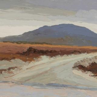 'New Road, Maam Cross, Connemara' by Luke Dillon-Mahon (1917-1997)
