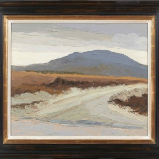 'New Road, Maam Cross, Connemara' by Luke Dillon-Mahon (1917-1997)