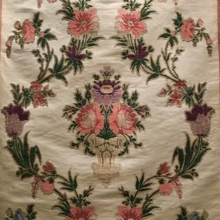 Antique Fabric De Lyons Material