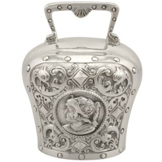 Sterling Silver Table Bell - Antique Victorian (1897)