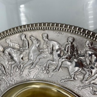 Victorian Sterling Silver Wine Ewer on Stand London 1866 Stephen Smith