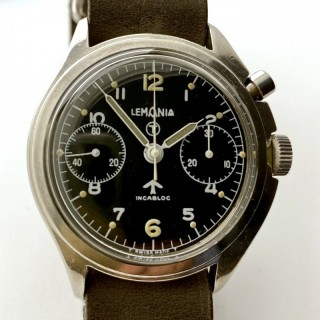 Lemania Pilot's watch