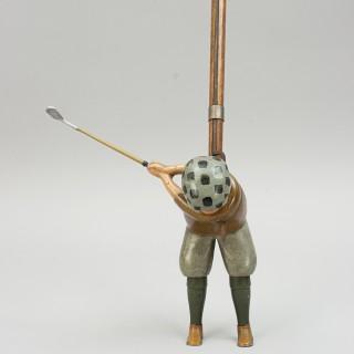Vintage Parlour Golf Toy, Tommy Green by Schoenhut, Philadelphia