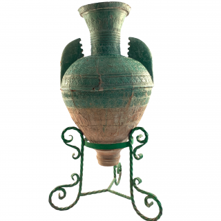 LARGE ALMOHAD WATER JAR, SPAIN, 12TH/13TH CENTURY