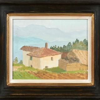 'Provence I' by Luke Dillon-Mahon (1917-1997)